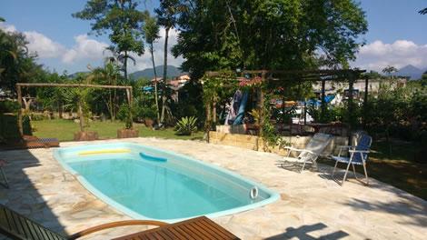 Hotel Pousada com Área Verde, Natureza, Animais